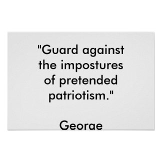 pretended patriotism posters