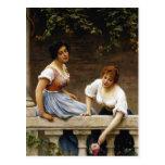 Pretendiente no visto de Eugene de Blaas- The Tarjetas Postales