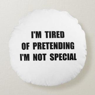 Pretending Special Round Pillow
