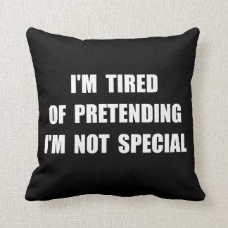 Pretending Special Throw Pillow