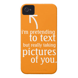 Pretending to Text iPhone 4 Case-Mate Case