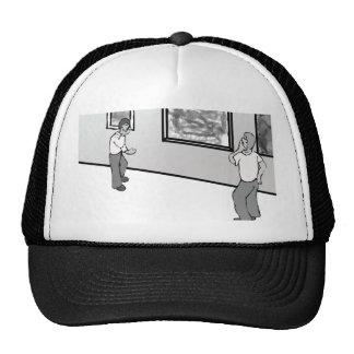 Pretentious and derivative Shirts Trucker Hats