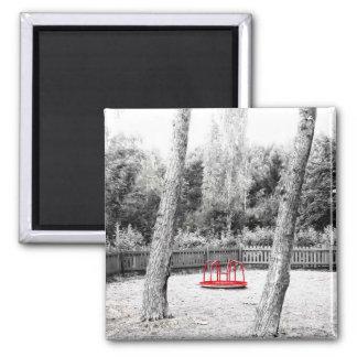 Pretentious Art shot 2 Inch Square Magnet