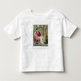 """Pretor, no. 38 de """"Roma antigua"""", grabada por L Camisas"""