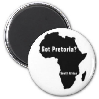 Pretoria South Africa T-Shirt And etc Fridge Magnets