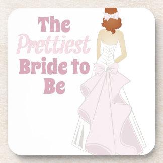 Prettiest Bride Coaster