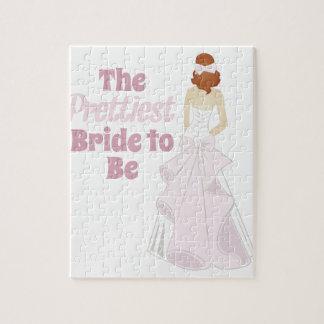 Prettiest Bride Jigsaw Puzzle