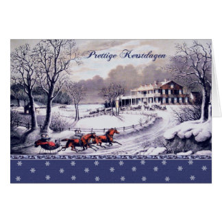 Prettige Kerstdagen. Dutch Christmas Cards