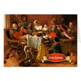 Prettige Kerstdagen.Dutch Christmas Greeting Cards