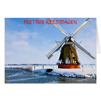 PRETTIGE KERSTDAGEN  (MERRY CHRIST. CARD