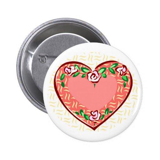 pretty 2 inch round button