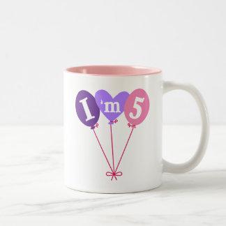 Pretty 5th Birthday Mug Gift