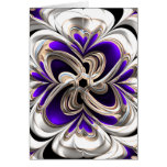 Pretty Abstract Design Greeting Card