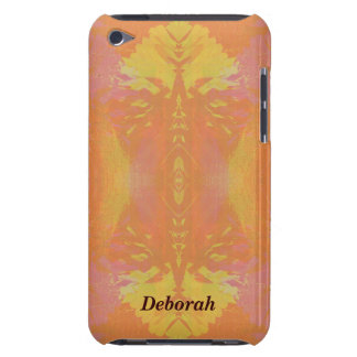 Pretty Abstract in Orange and Yellow iPod Touch Cover