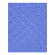 Pretty Abstract Pattern in Blue Flyer