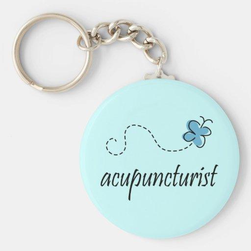 Pretty Accupuncturist Keychain