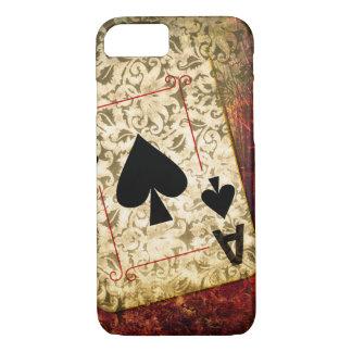 Pretty Ace of Spades Design Phone Case
