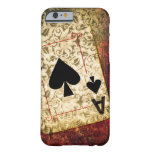 Pretty Ace of Spades Design Phone Case Barely There iPhone 6 Case