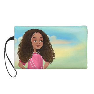 pretty African girl Bagettes Bag