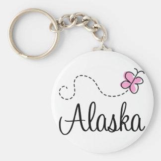 Pretty Alaska T-shirt Gift Keychain