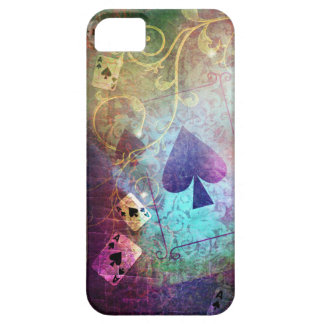 Pretty Alice in Wonderland Inspired Ace of Spades iPhone SE/5/5s Case
