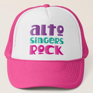 Pretty Alto Singers Rock Gift Trucker Hat