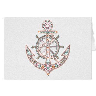 Pretty Anchor Card
