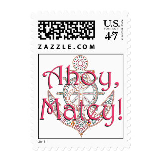 Pretty Anchor Postage