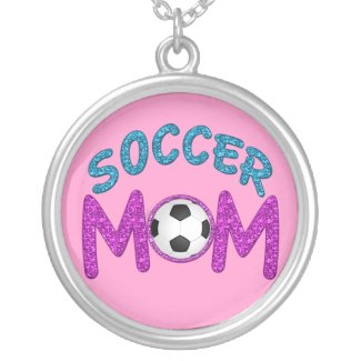 Pretty and Bold Soccer Mom Necklace