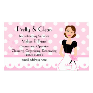 Pretty And Clean Business Card Templates
