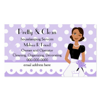 Pretty And Clean Business Card Template