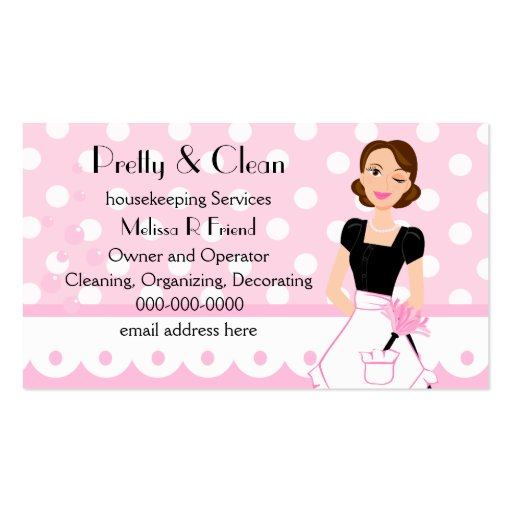 House Cleaning Business Card Templates Page3 Bizcardstudio