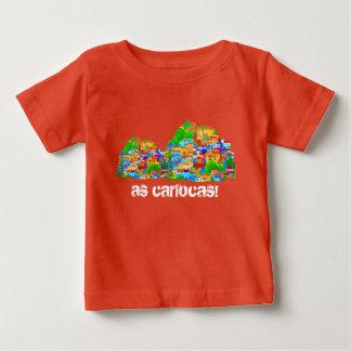 Pretty and colored slum! baby T-Shirt