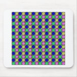 Pretty and colourful design mousepads
