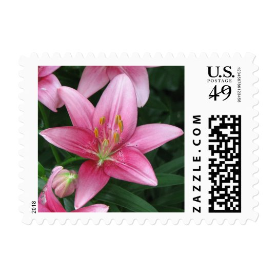 Pretty and Pink Postage