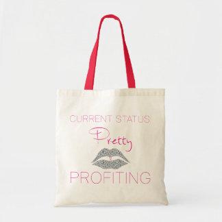 Pretty and profiting tote