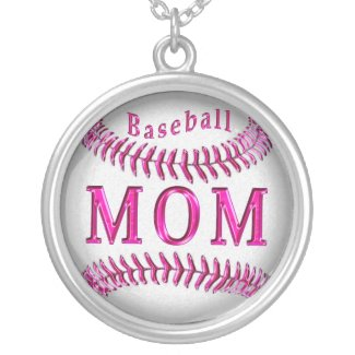 Pretty and Unique Baseball Necklaces for Moms