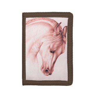 Pretty Andalusian Horse Trifold Wallet