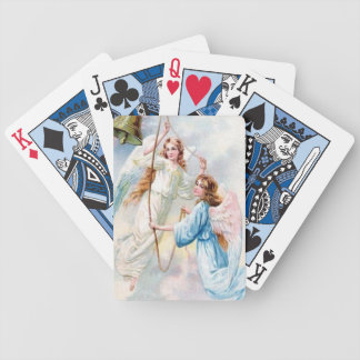 Pretty Angels In Pastels Playing Cards