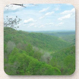 Pretty Appalachian Overlook Drink Coaster