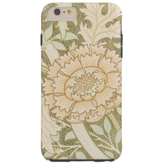 Pretty Apricot Flower Vintage Design Tough iPhone 6 Plus Case
