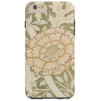 Pretty Apricot Flower Vintage Design Tough iPhone 6 Plus Case