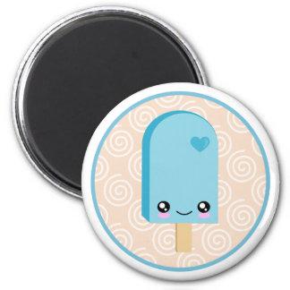Pretty Aqua Blue Popsicle Kawaii Magnet