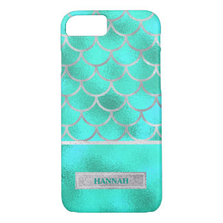 Pretty Aqua Mermaid, Customized iPhone 8/7 Case