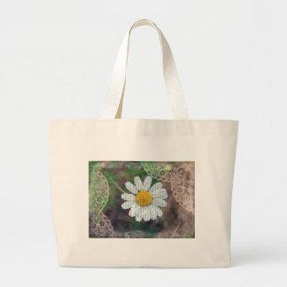 Pretty As A Daisy Canvas Bags
