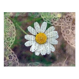 Pretty As A Daisy Postcard