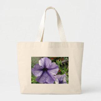 Pretty As a Petunia Large Tote Bag