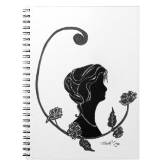 Pretty as a Picture Spiral Note Books