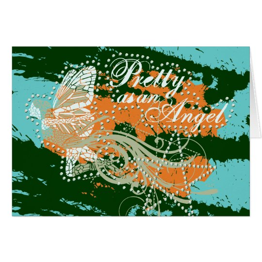 Pretty As an Angel Tshirts and Gifts Card