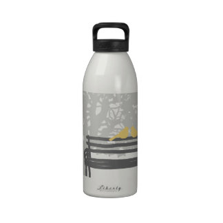 Pretty Autumn Leaves Reusable Water Bottles